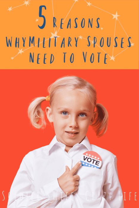5 Reasons Why Military Spouses Need to Vote