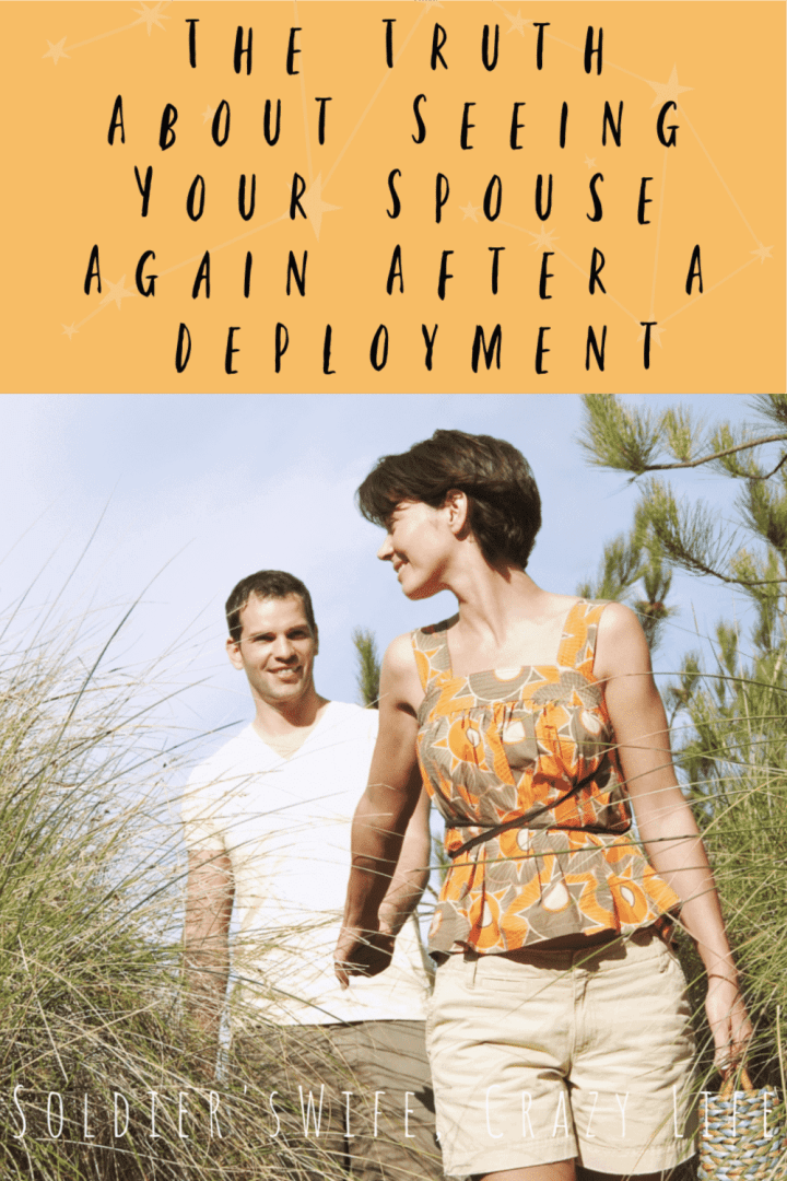 The Truth About Seeing Your Spouse Again After A Deployment
