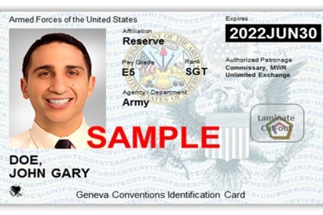 New Military ID Cards Being Issued for Military Family Members, Retirees -  Soldier Systems Daily
