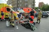 schwerverletzte motorradunfall osloer strasse prinzenallee Berlin (11)