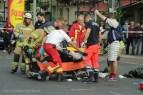 schwerverletzte motorradunfall osloer strasse prinzenallee Berlin (15)