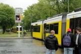 Tramunfall kleintransporter osloer ecke Prinzenallee (6)