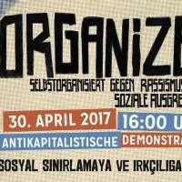 Demo Organize 2017 Leopoldplatz