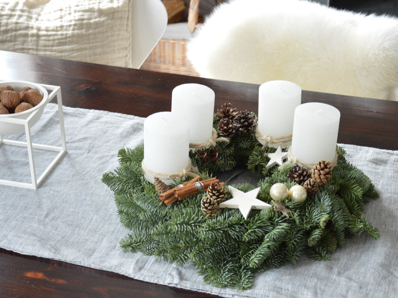 Die besten Ideen für deinen Adventskranz