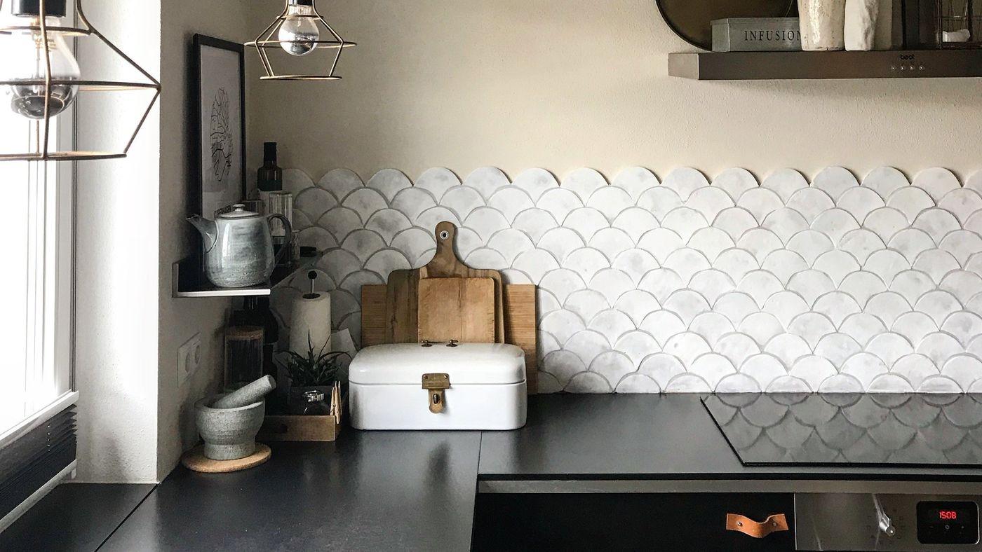 Ideen Fliesenspiegel Küche  20 Fenstervorhänge Ideen Für Küche