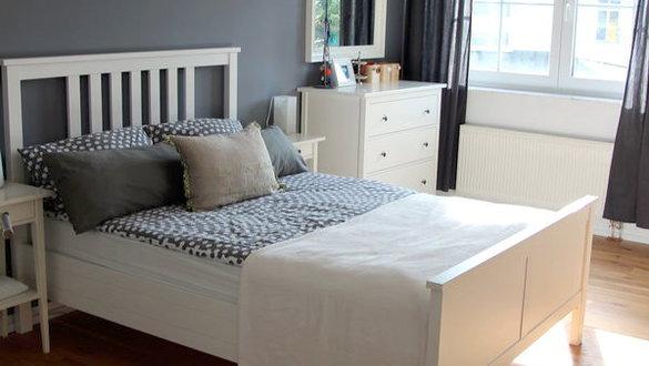 Kleines Gelbes Haus Schlafzimmerrenovierung Ideen Und Inspirationen Für Ikea  Betten Ikea Bett Hemnes ...