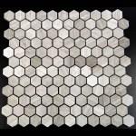 Grey-MS-0207-1H-1in Hexagon Escarpment
