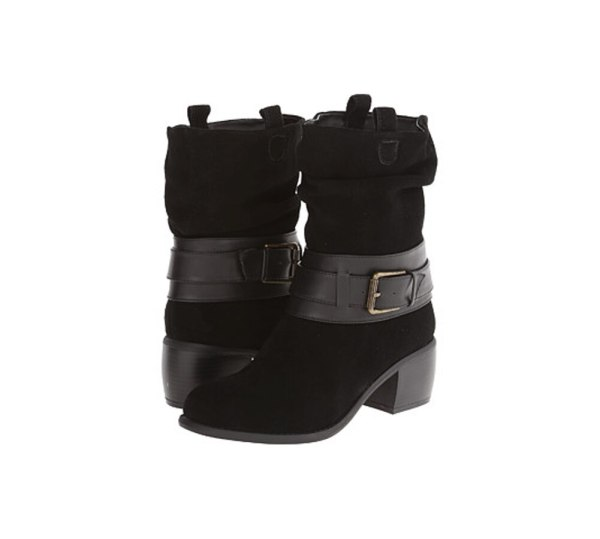 Kenneth Cole Reaction Women Curve Ball Boots Black Soleconnect