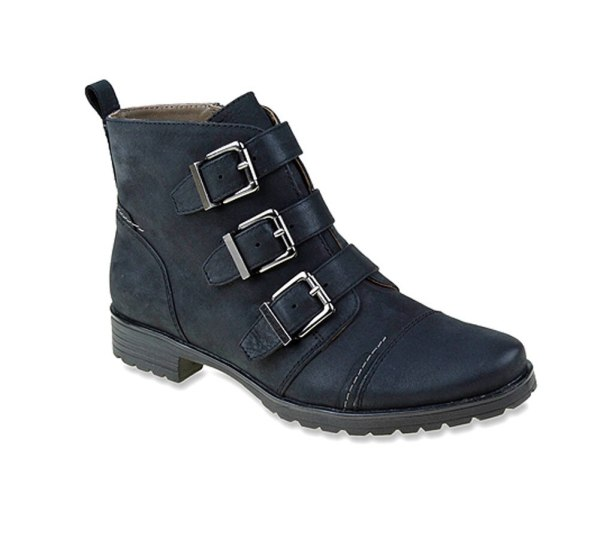 Earthies Women Carlow Boot Black Soleconnect