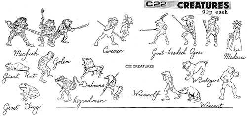 C22 Creatures