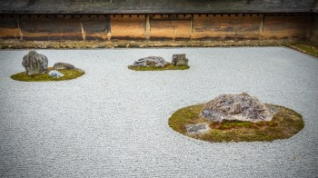Kyoto Le Temple Ryoan Ji Son Parc Et Son Jardin De Pierre En