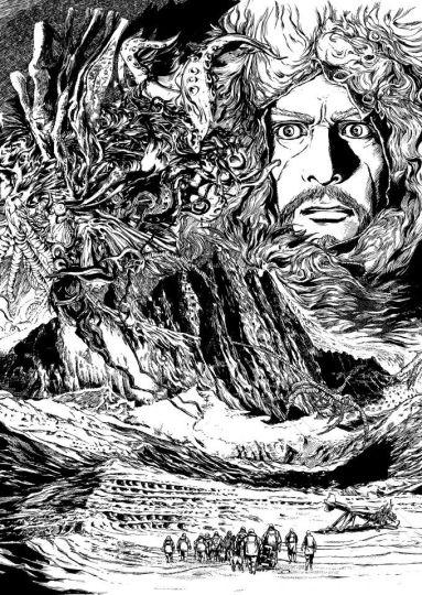 Les montagnes hallucinées ( KI-OON )