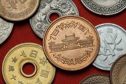 Monnaie japonaise, Byodo-in ( Soleil Levant 75 )