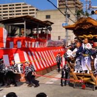 Danjiri Festival, Kishiwada , une spectaculaire course de chars..