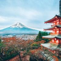 Fujiyoshida, la pagode Chureito.