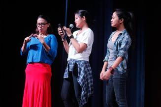 Felipa and the Pabebe girls