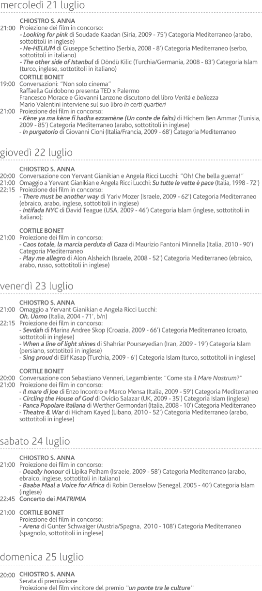 programma 2010-2