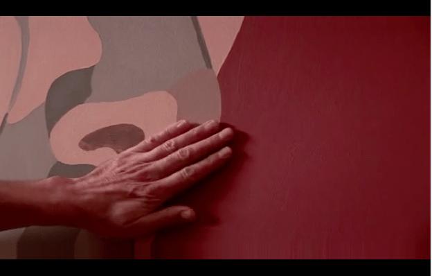 la mano azul