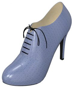 Solely Original Shiny Blue Stiletto Oxford