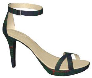 Solely Original Strappy Tartan Heels