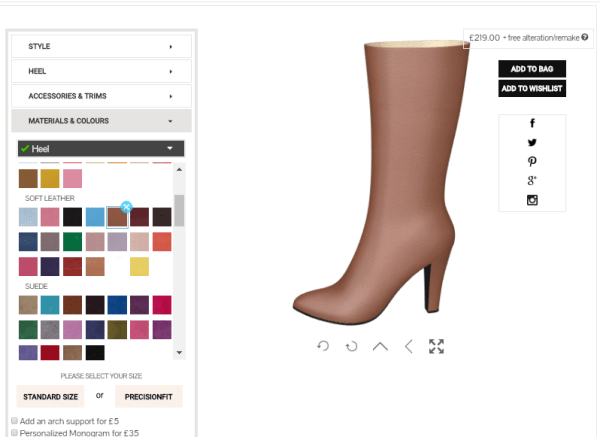 Shoes that match your skin tone