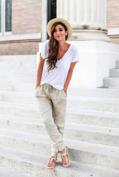 Sweatpants are the perfect style for Stylist Live