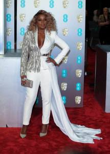 Who wore the best shoes at the BAFTAs