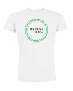 Mental health and fashion campaign, claire's t shirt design