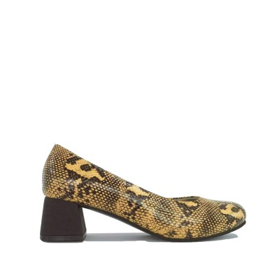 How to wear Snake Print shoes- yellow and black snakeskin