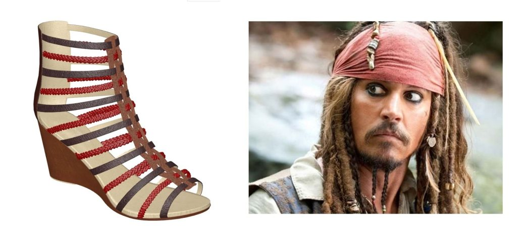 Jack Sparrow Shoes