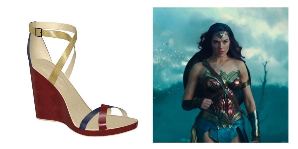 wonder woman shoes