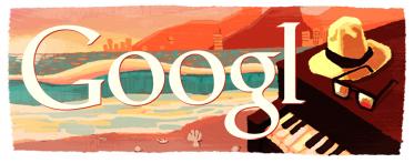 Google e Twitter lembram aniversário de Tom Jobim (1/2)