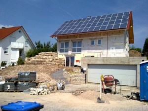 a house in germany with solar