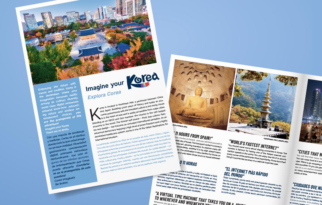 Publireportage Office du Tourisme de Corée