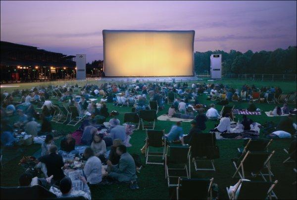 cinéma en plein Air à Rouen