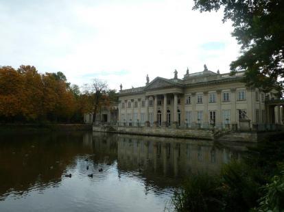 Łazienki Park, Warsaw