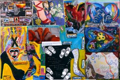 Jail Art Collage