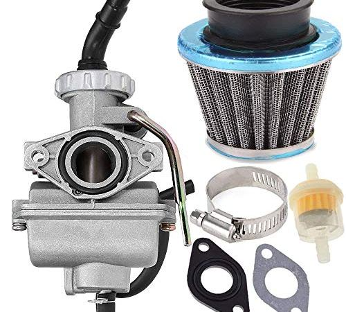 PZ20 Carburetor for Kazuma Baja 50cc 70cc 90cc 110cc 125cc TaoTao 110B NST SunL Chinese Quad 4 stroke ATV 4 wheeler Go kart Dirt Bike Honda CRF50F XL75 CRF80F XR50R /& Air Fuel Filter PZ20 Carburetor