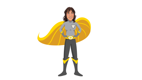 Hero Yellow cape