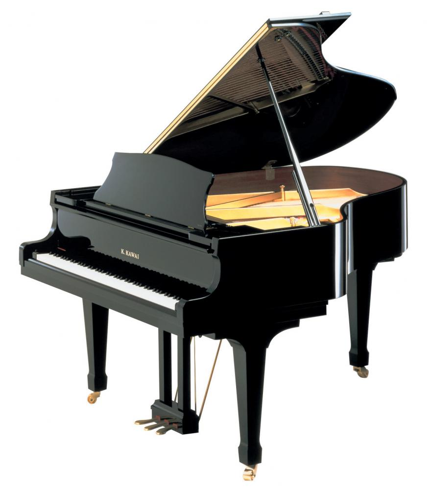 Kawai grand piano, ebony polish