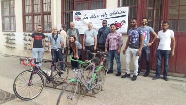 SoliCycle Paris 14ème atelier vélo solidaire de la porte de vanves
