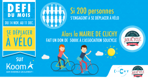 ateliers vélo solidaire clichy koom