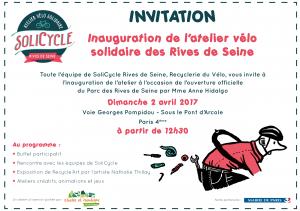 SoliCycle rives de seine recyclerie du vélo ressourcerie du vélo berges de seine
