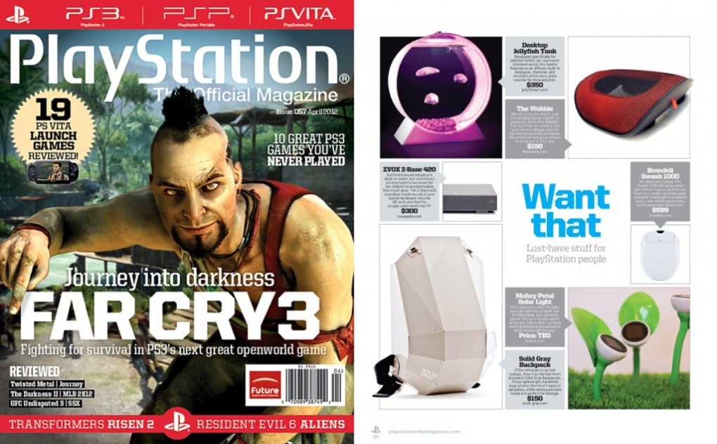 SOLID GRAY Playstation publication