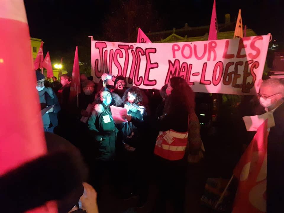 """Appel """"Nous mal logé.e.s"""" de Grenoble"""