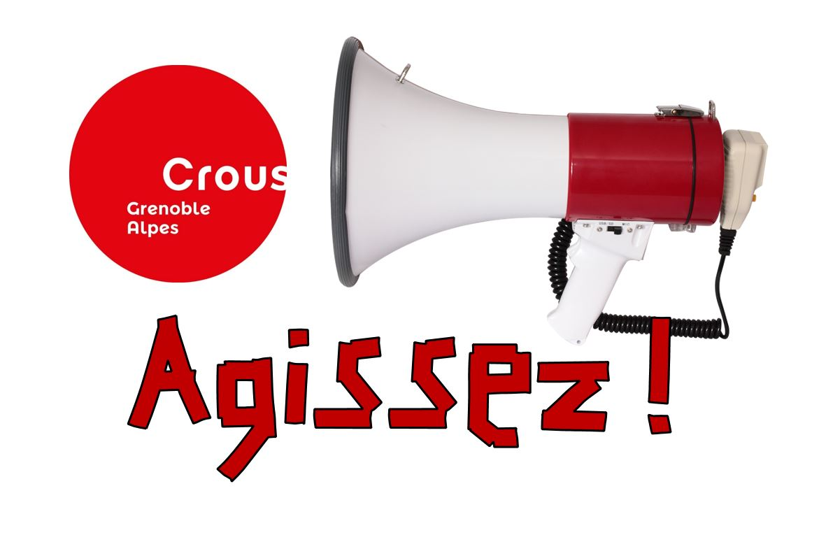 """""""le Crous de Grenoble doit prendre ses responsabilités et agir"""" Solidaires Etudiant.e.s Grenoble et CGT-Crous"""