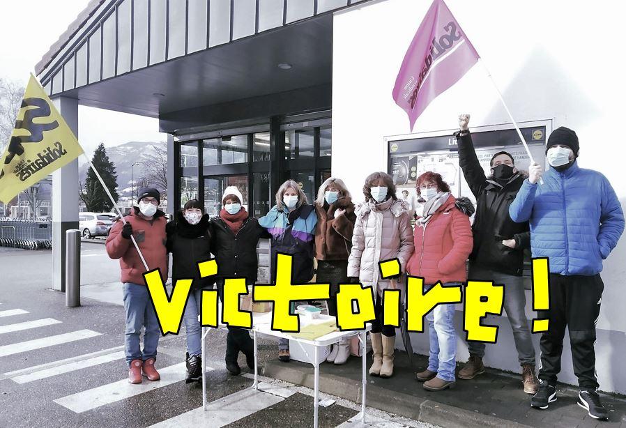 Victoire des guichetières et des guichetiers de La Poste dans le Grésivaudan en Isère !