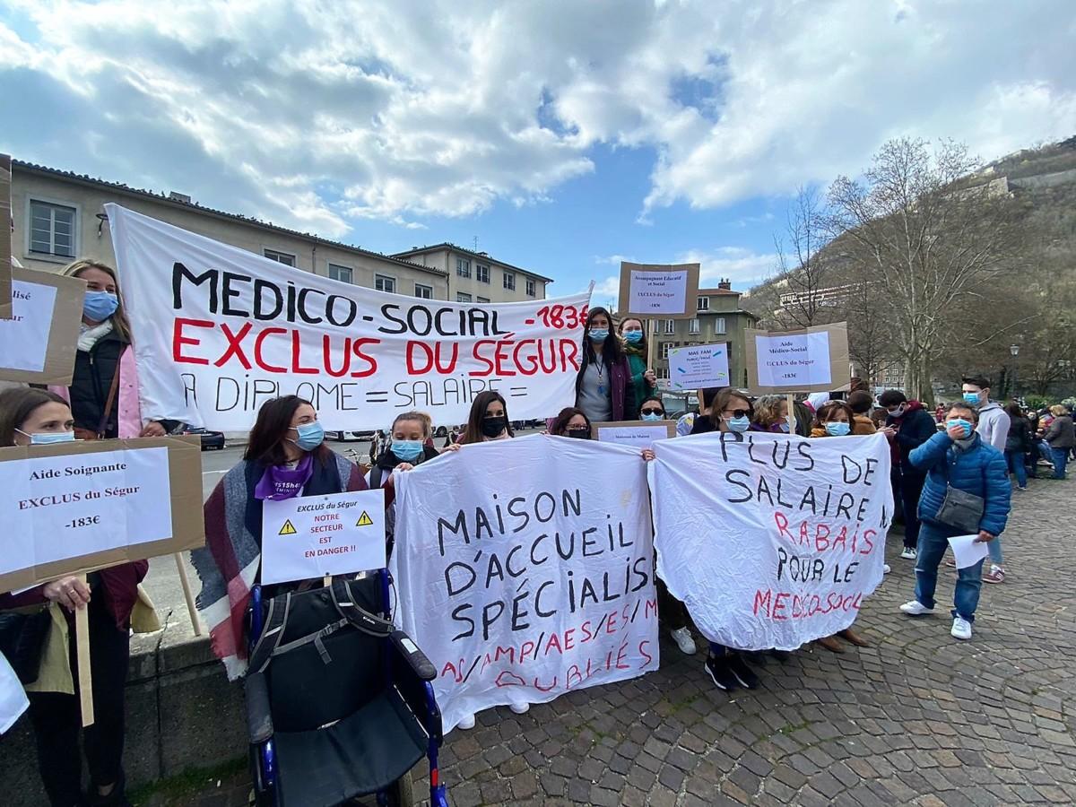 Grève du Secteur Social et Socio Médical les 7-8-9 Avril ! 3 jours de RDV à Grenoble !