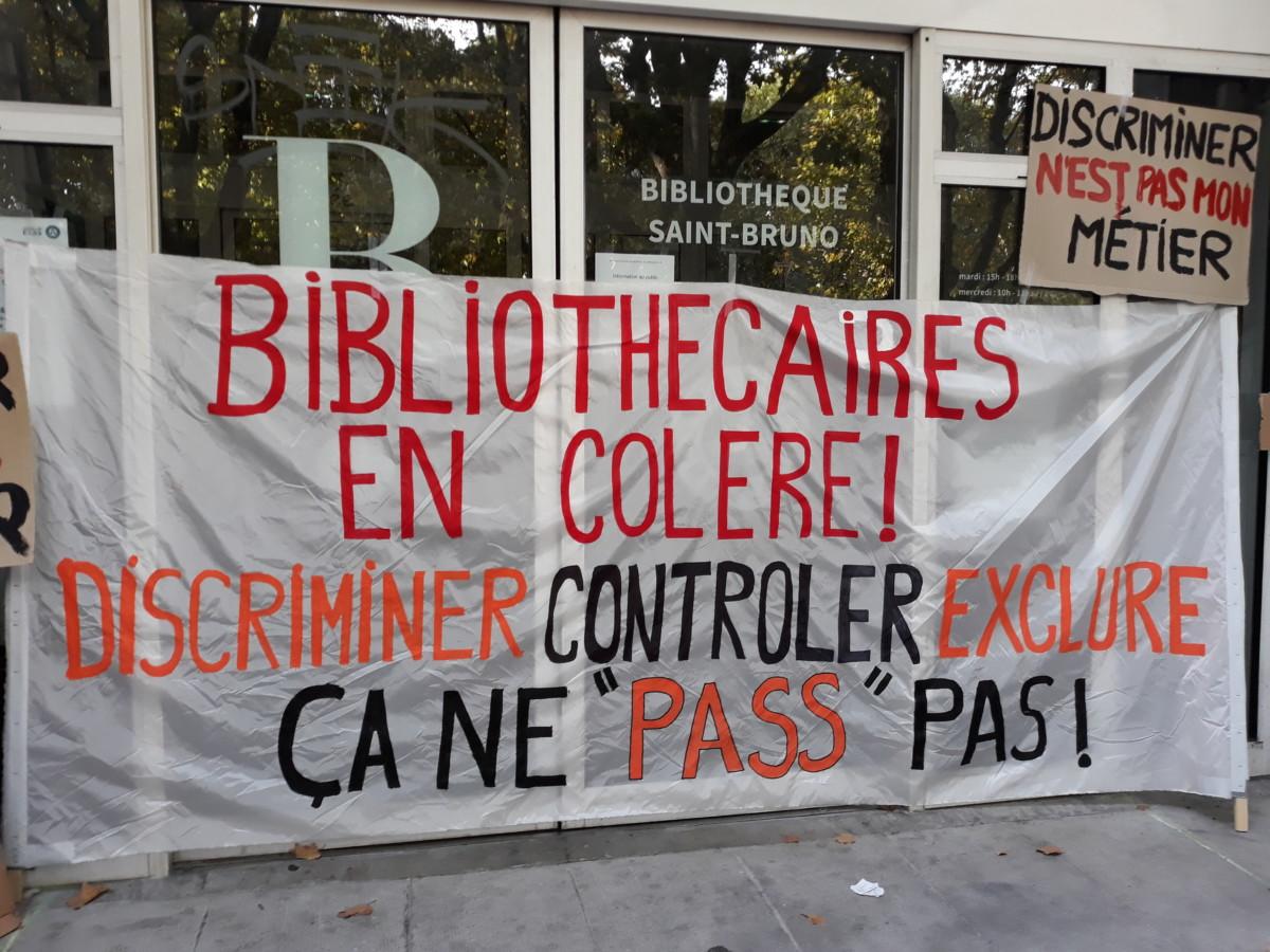 Appel à une grève nationale des bibliothécaires de Grenoble en lutte