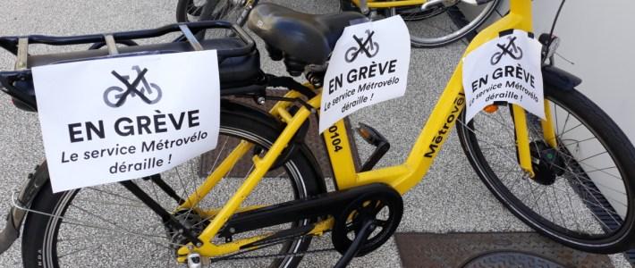 Le service Métrovélo de l'agglomération de Grenoble est en roue libre